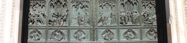 Duomo Milán II guerra mundial