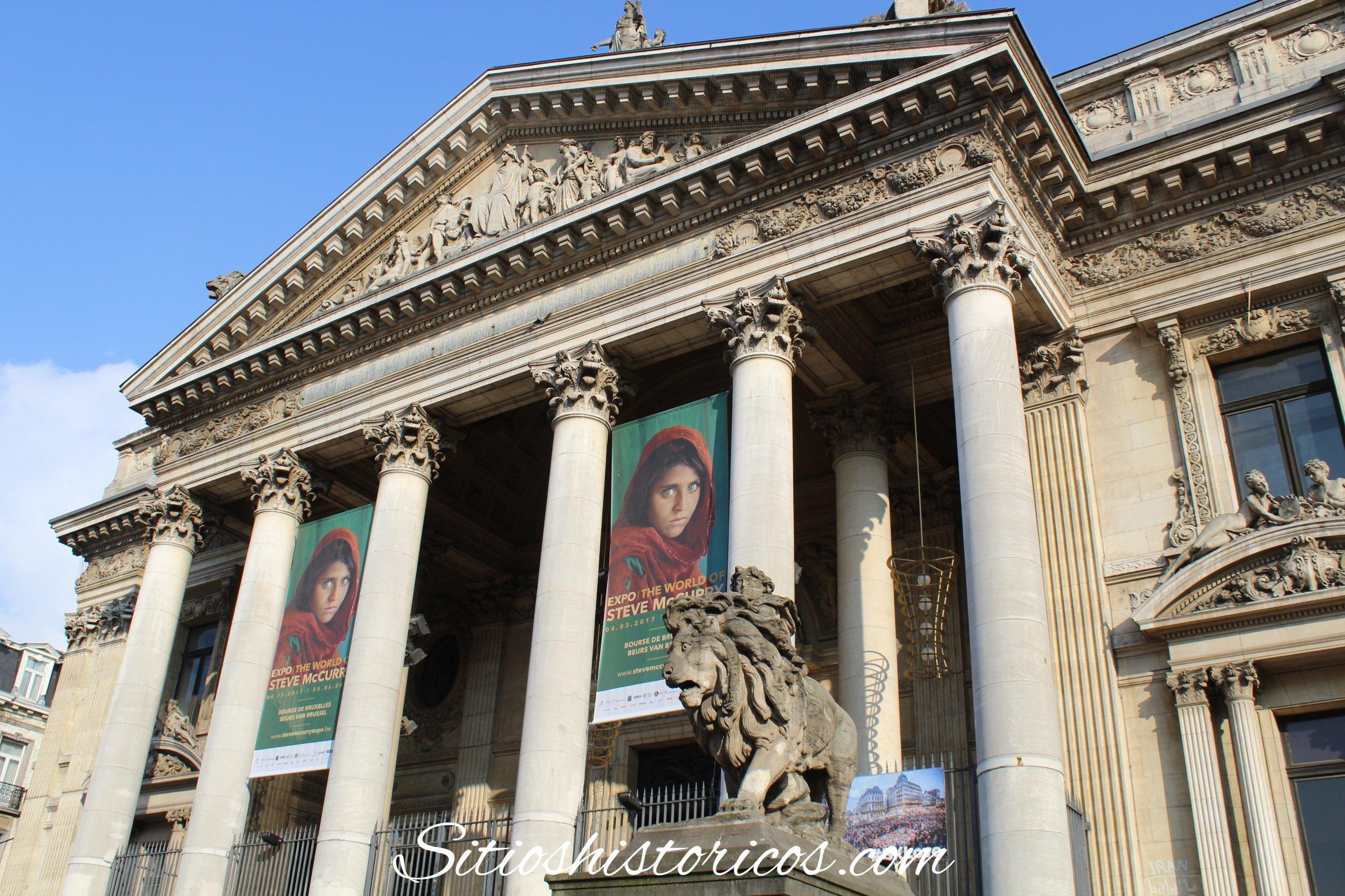 Bruselas La Bolsa Edificio De El Sitios Históricos CxdtQhrBos
