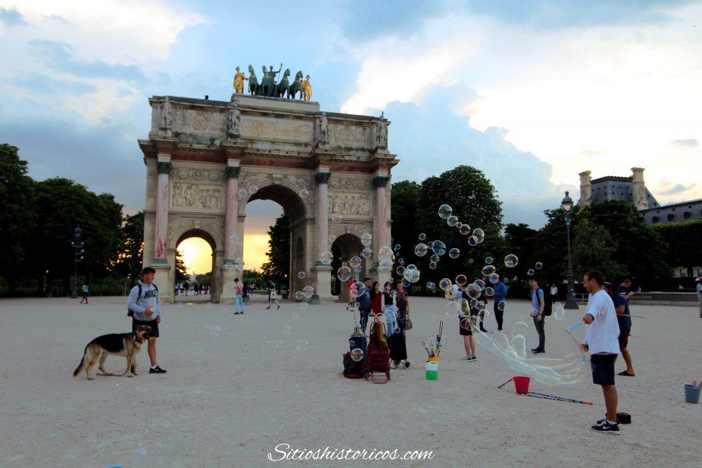 Lugares históricos París
