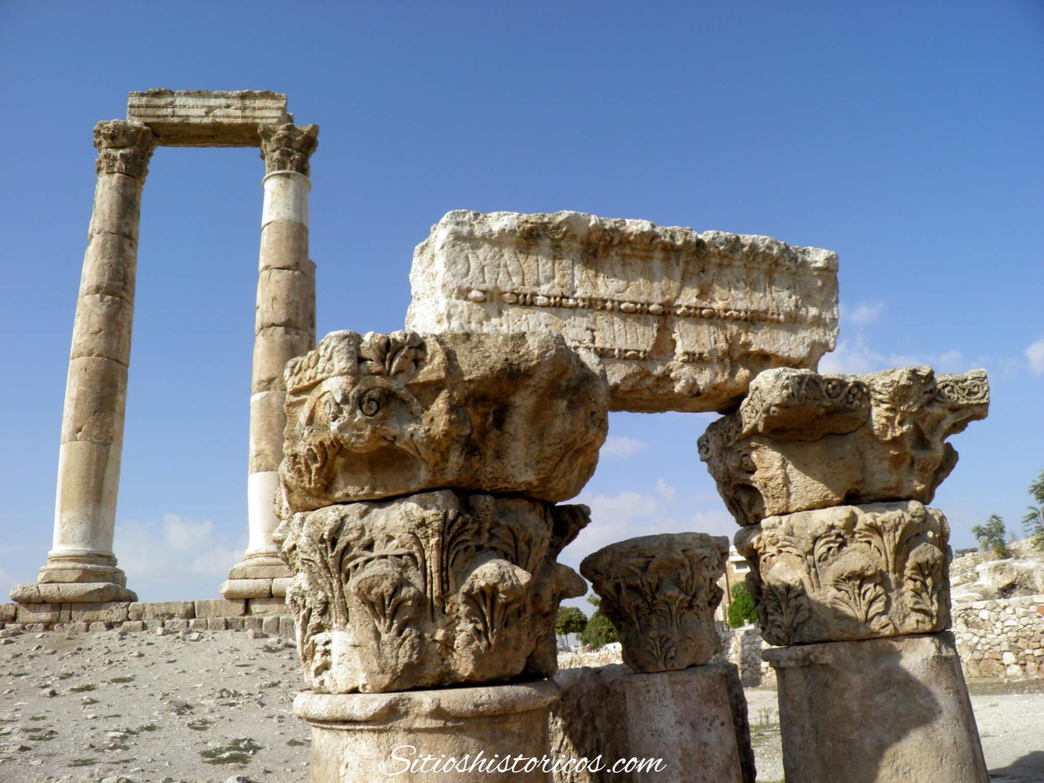 Sitios históricos Jordania
