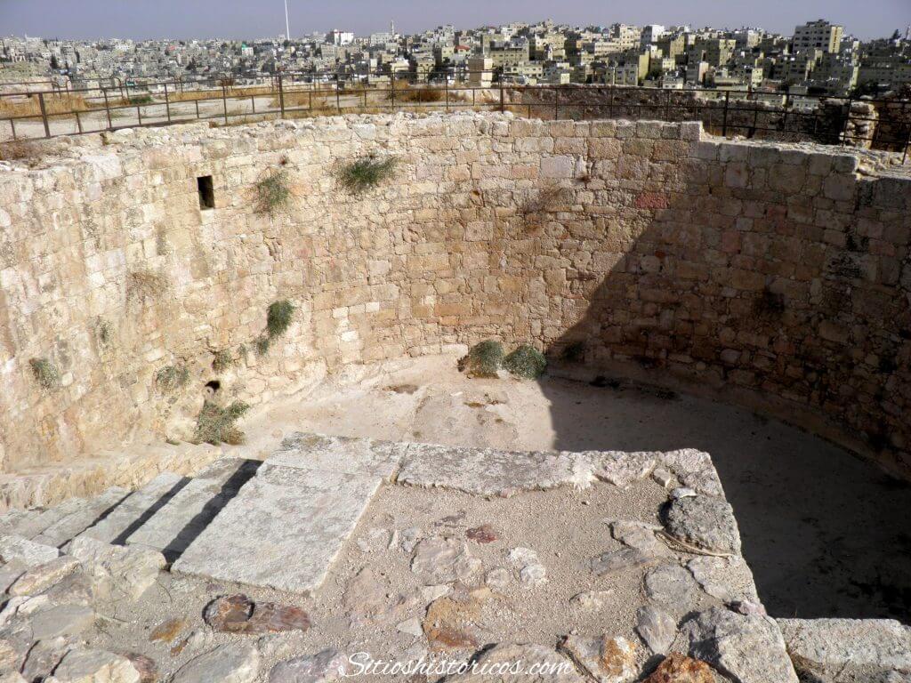 Cisterna ciudadela Amman