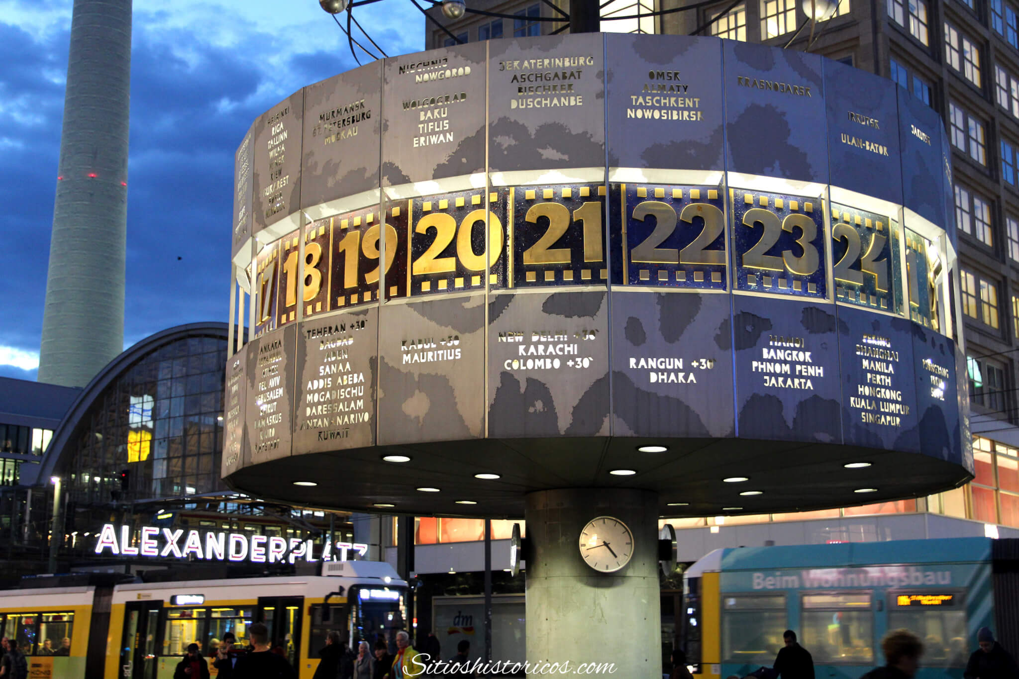 Reloj mundial Alexanderplatz