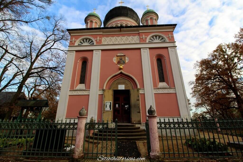 Iglesia rusa Potsdam