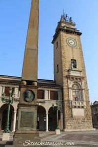 Obelisco Napoleón en Bérgamo