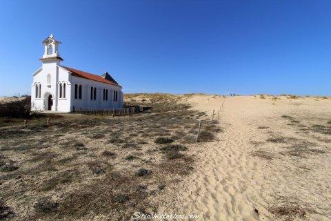 Capilla de las dunas. Labenne