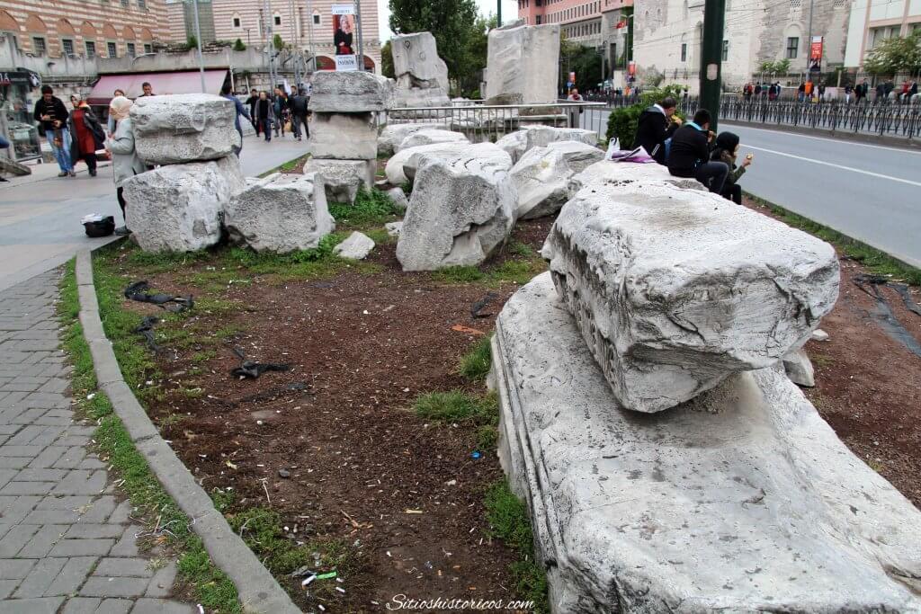 Restos romanos Estambul