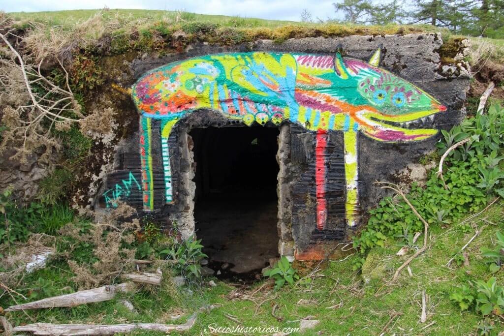 grafitis monte Agiña