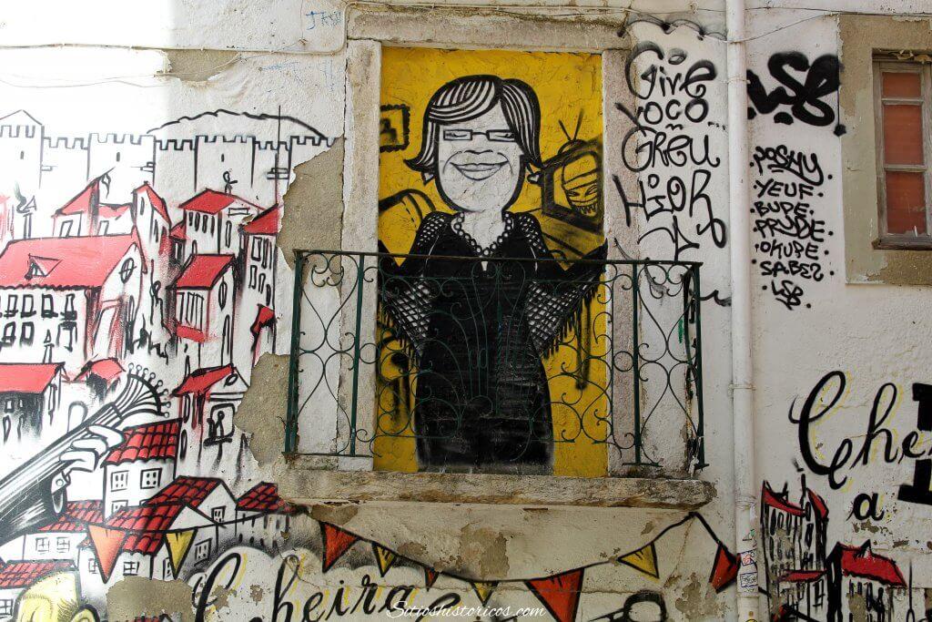 graffitis en Lisboa
