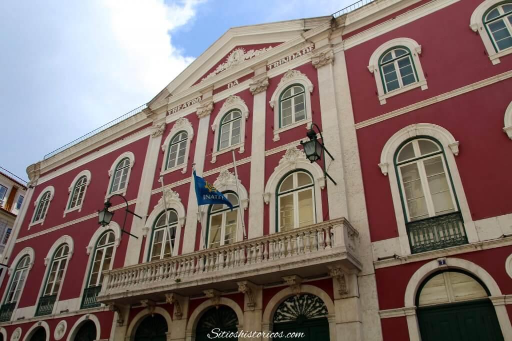 Teatro de la Trinidad Lisboa. Que ver en Lisboa
