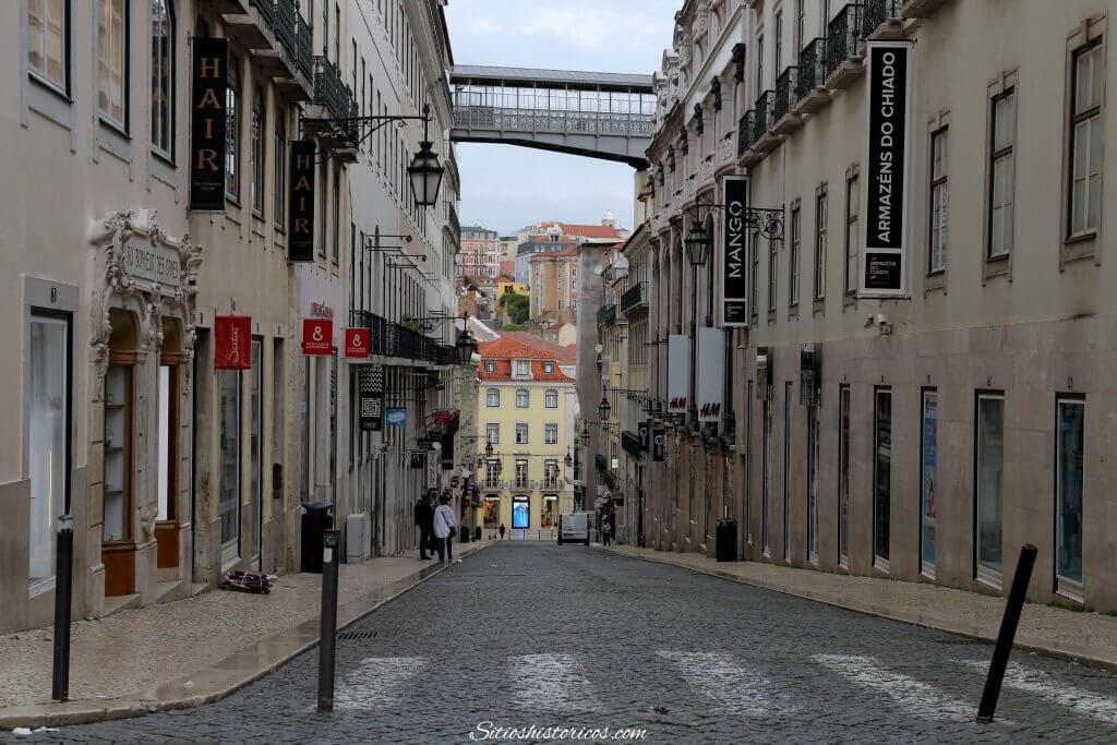 Barrio de Chiado Lisboa. Que ver.