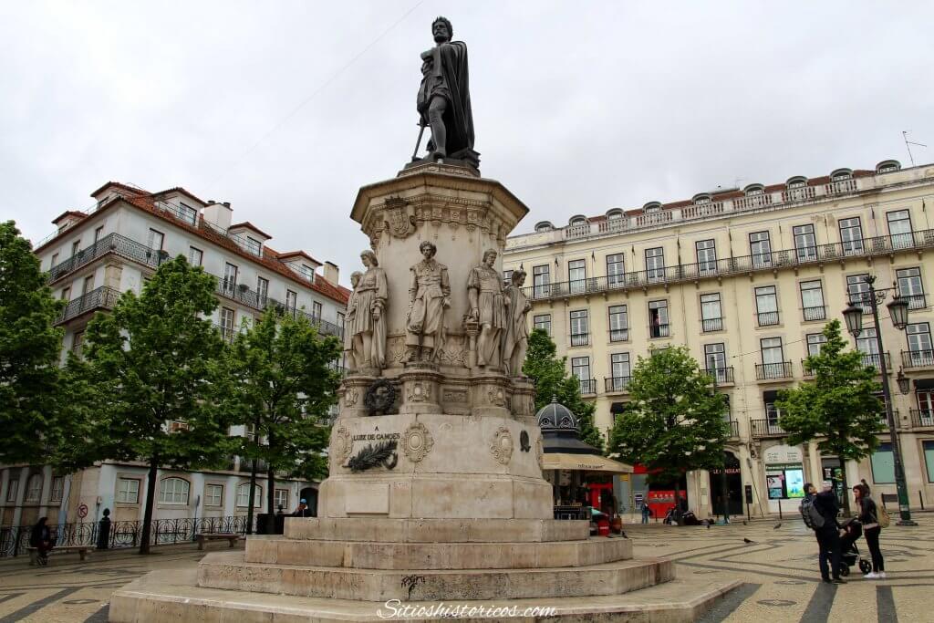 Plaza Luis de Camoes Lisboa