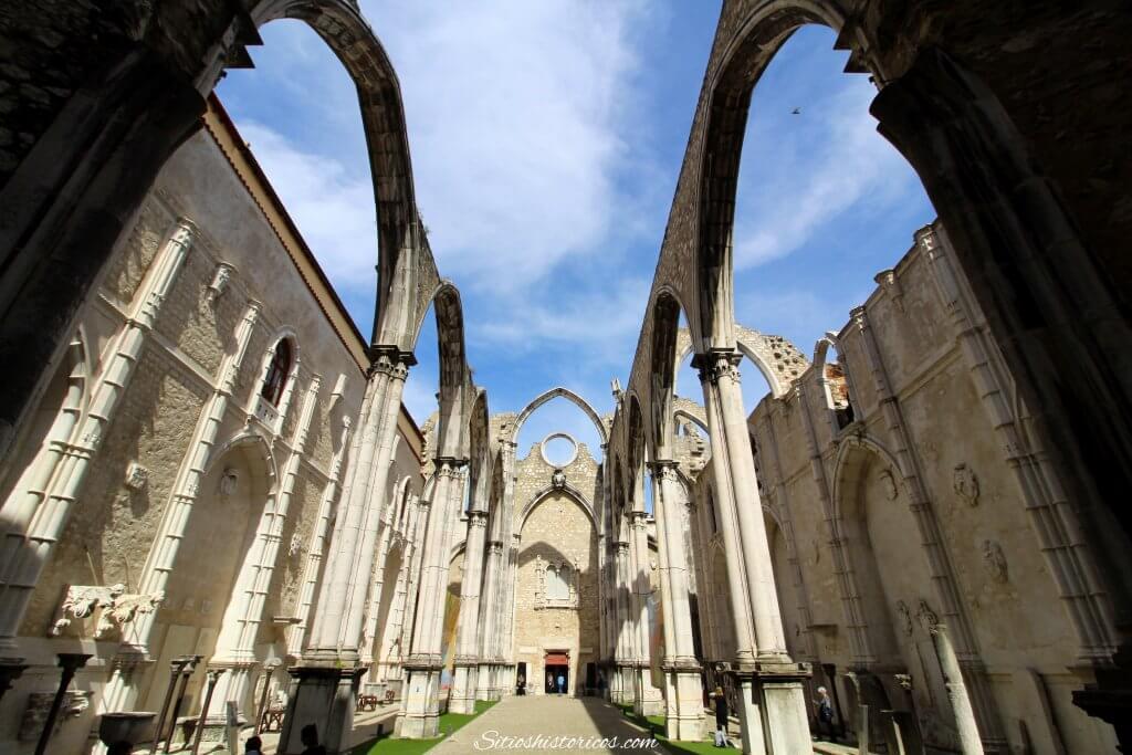 Convento do Carmo. Iglesias de Lisboa. Que ver en Lisboa.