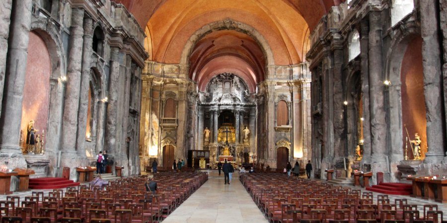 Iglesia quemada Lisboa