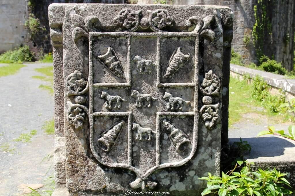 Escudo castillo de Butrón