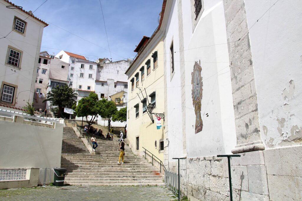 Barrio de la Alfama Lisboa