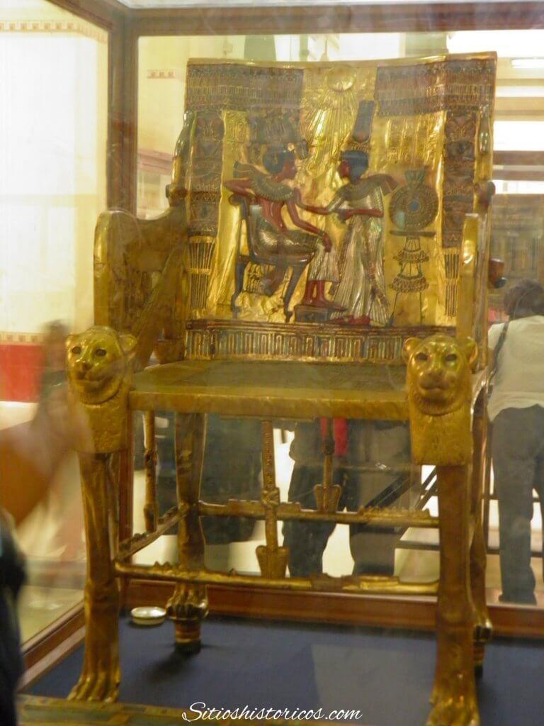 Trono Tutankamón