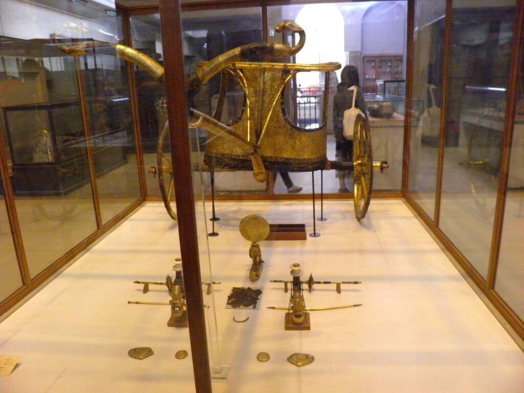 Carro Tutankamón