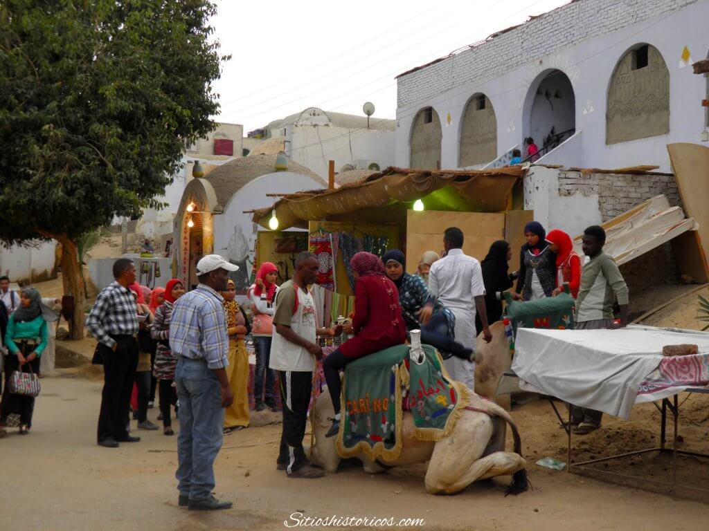 Visita pueblo nubio