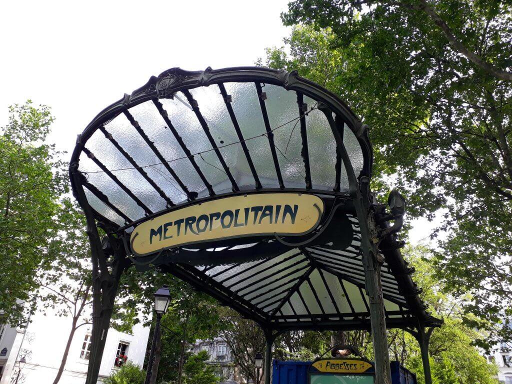 Metro más bonitos París
