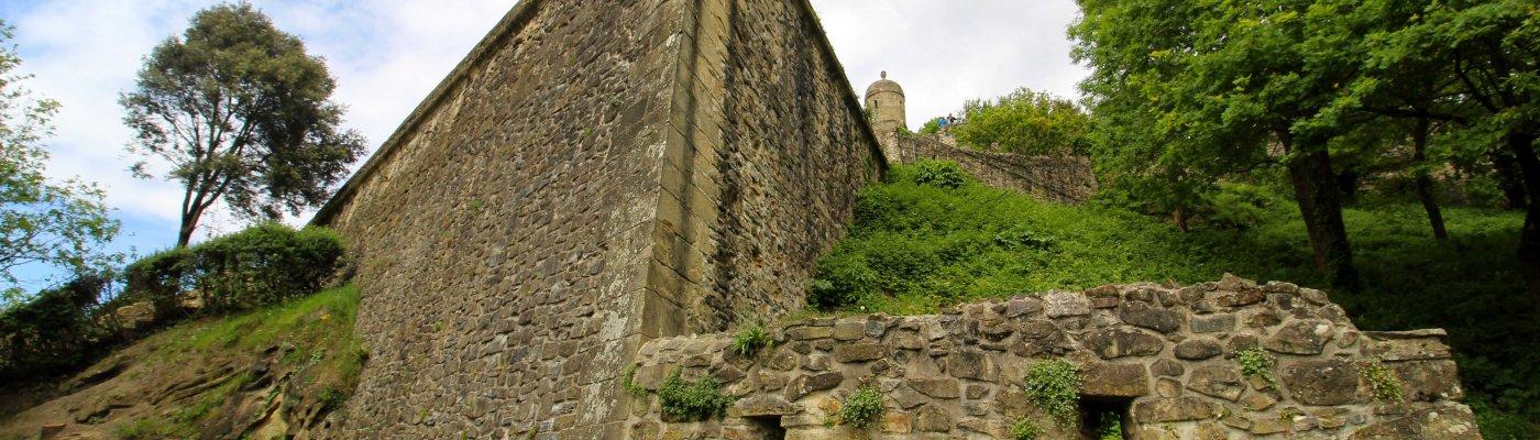 Castillo en San Sebastián