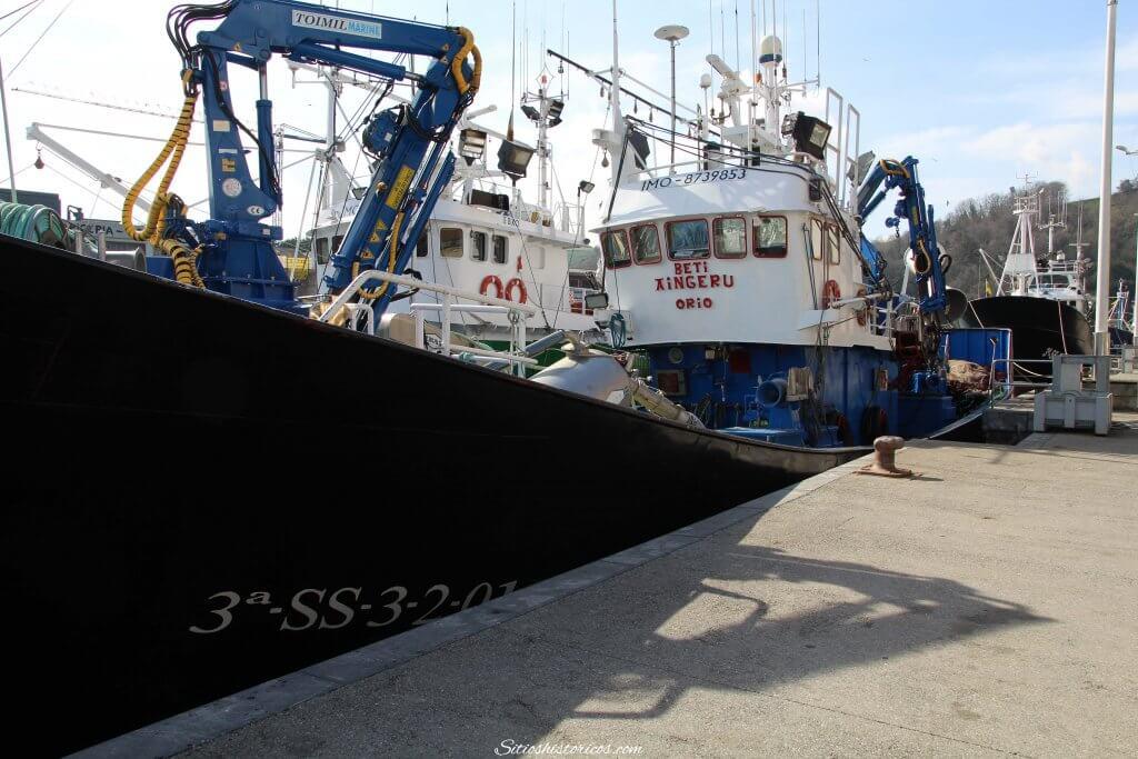 Puerto pesquero Orio