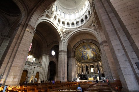Interior Sacre Coeur