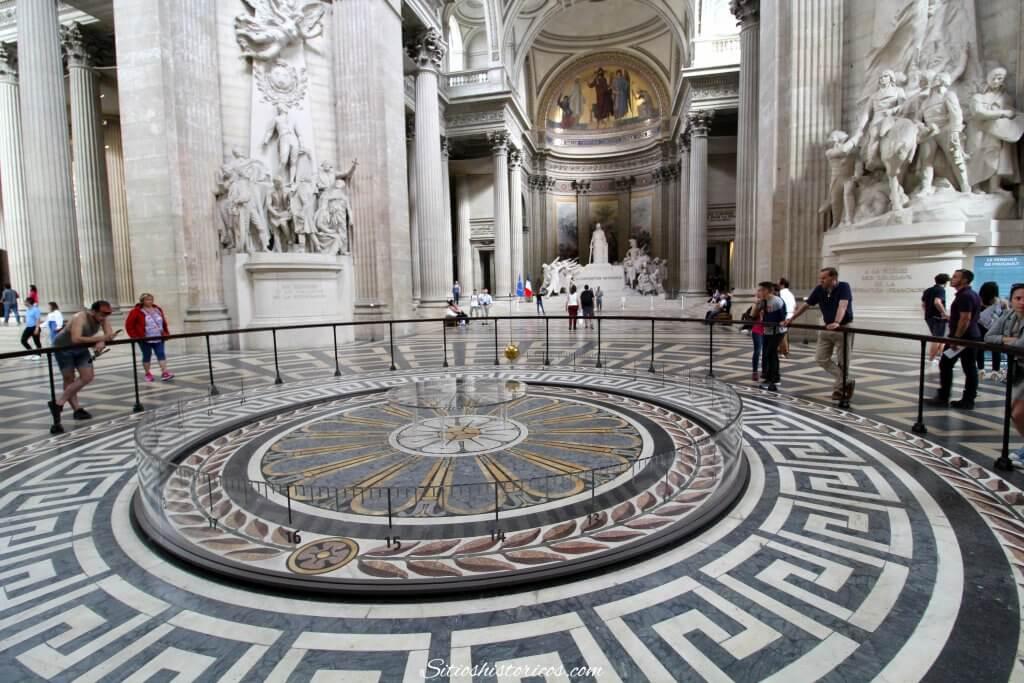 Péndulo en Panteón de París