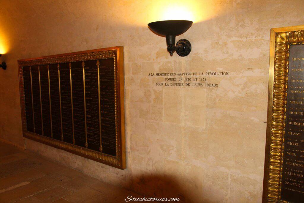 Cripta panteón Francia