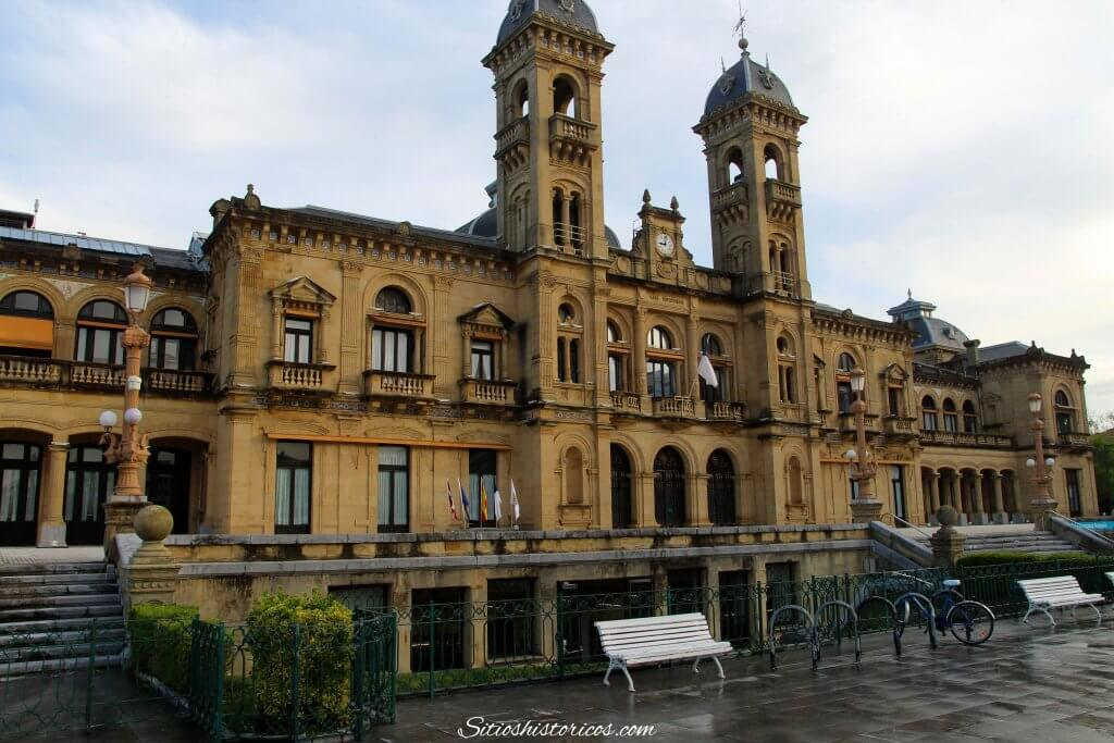 Historia ayuntamiento Donostia