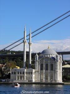 Mezquita en el Bósforo