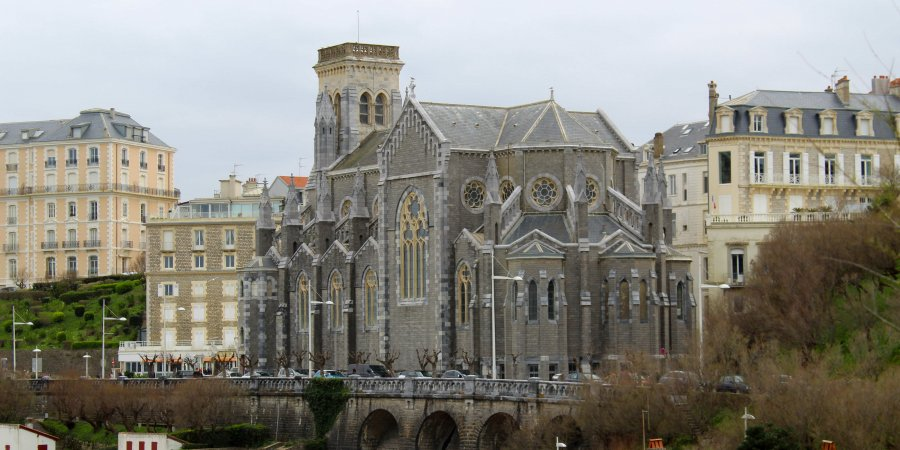 Qué ver en Biarritz. Iglesia de Santa Eugenia de Biarritz