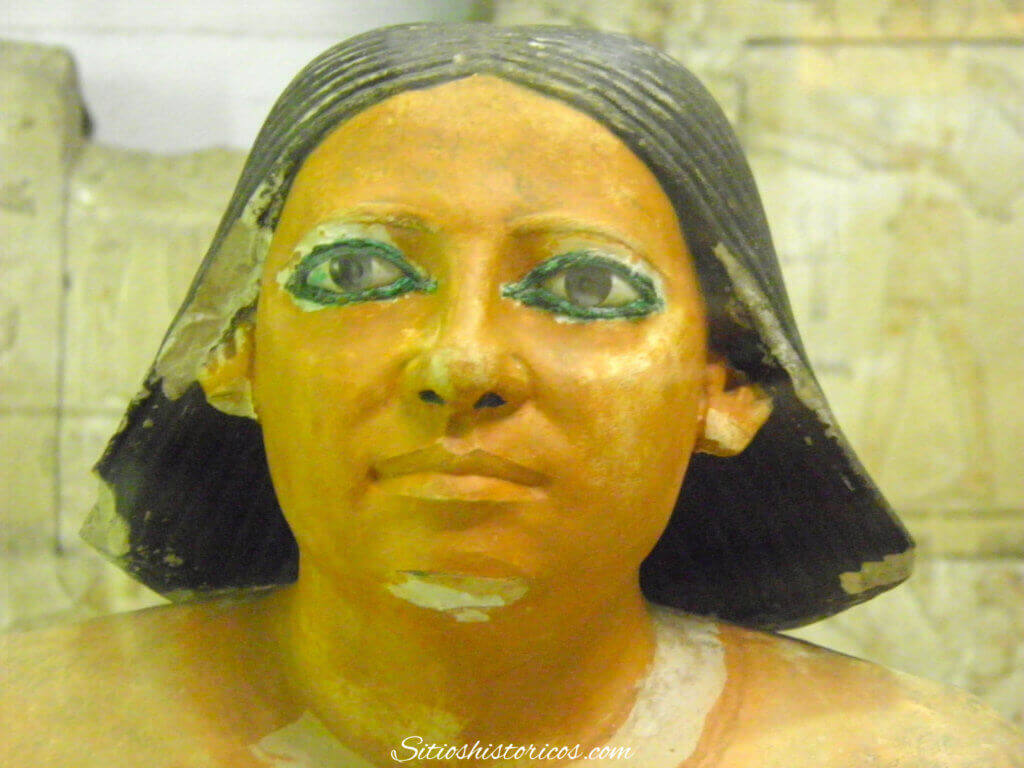 Escriba egipcio.