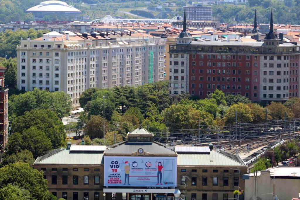 Estación topo San Sebastián