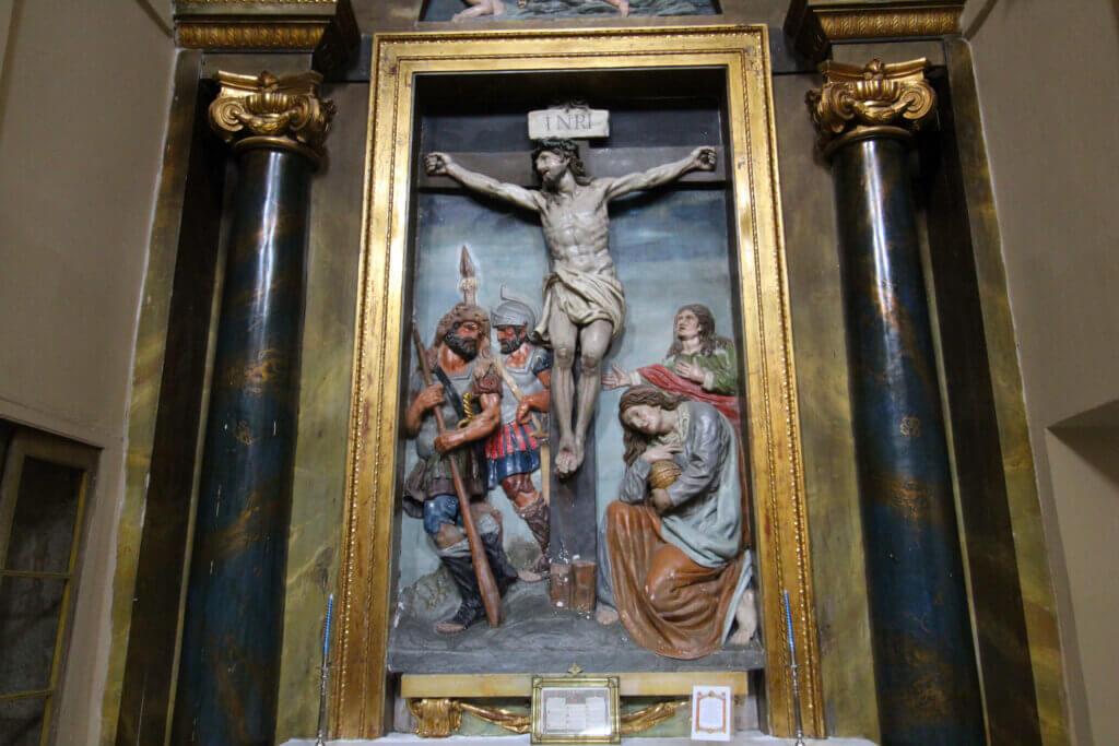 Retablo de la iglesia de San Miguel de Cuzcurrita de Río Tirón