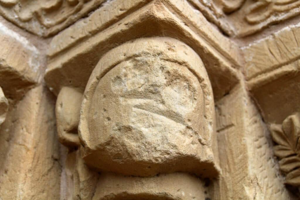 Capitel antropomorfo ermita Sorejana