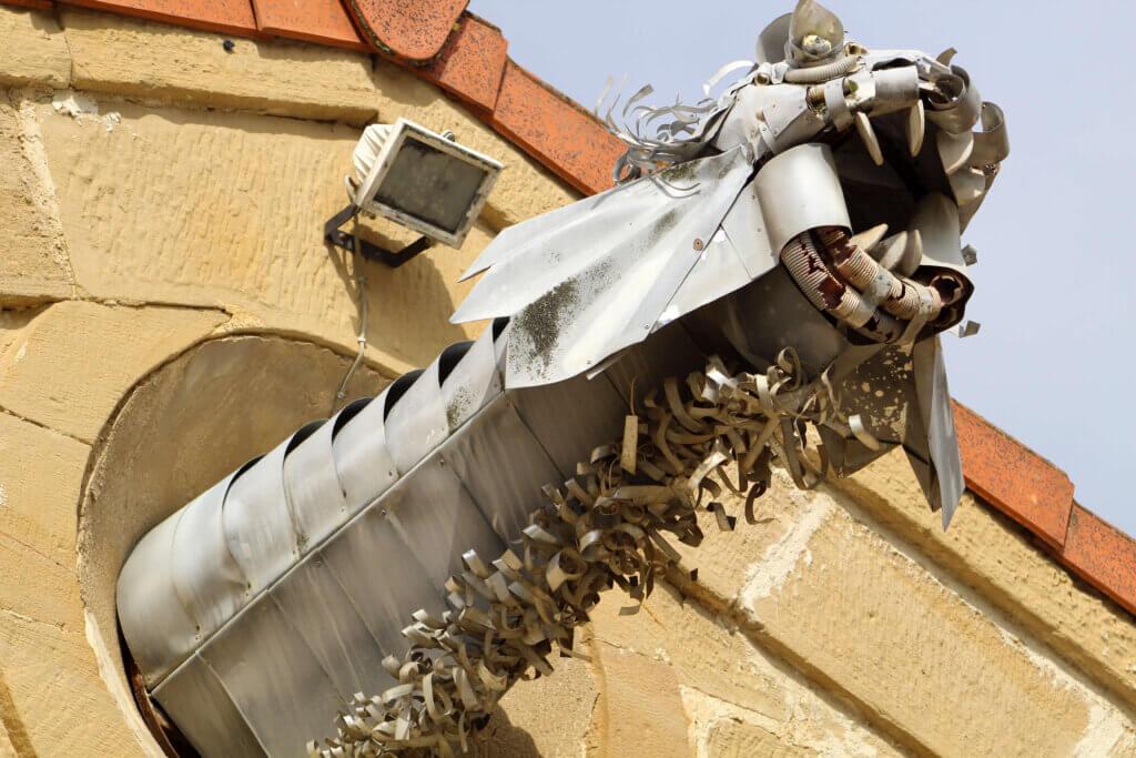 Escultura dragón Sajazarra