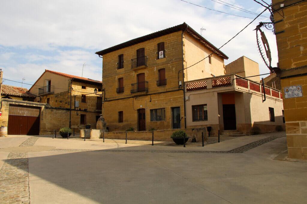 Plaza del Horno Sajazarra