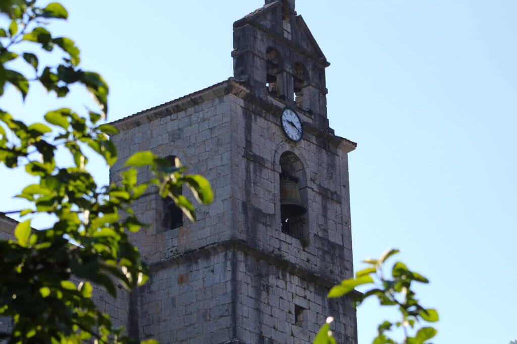 Campanario iglesia de Amezketa