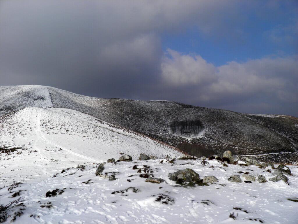 Monte nevado de Goizueta