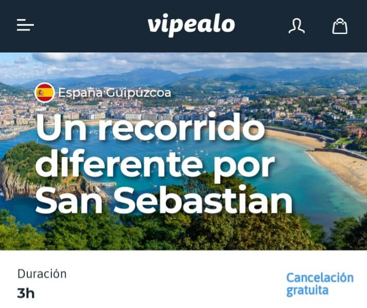 Recorrido diferente por San Sebastián