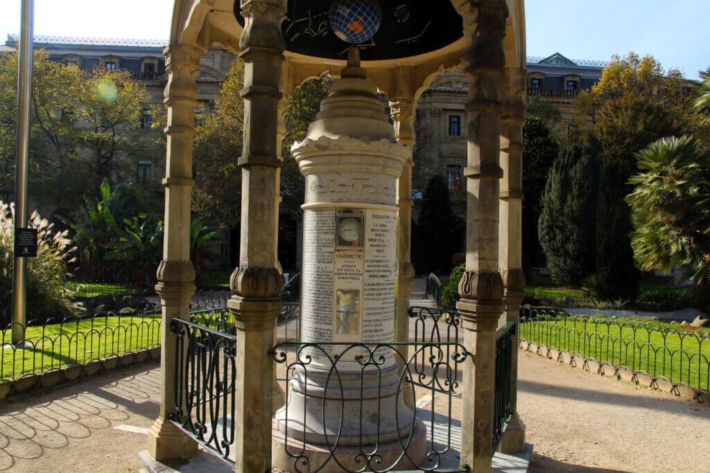 Columna meteorológica Donostia