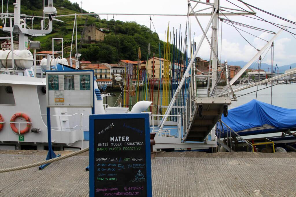 Barco-museo Mater Pasajes