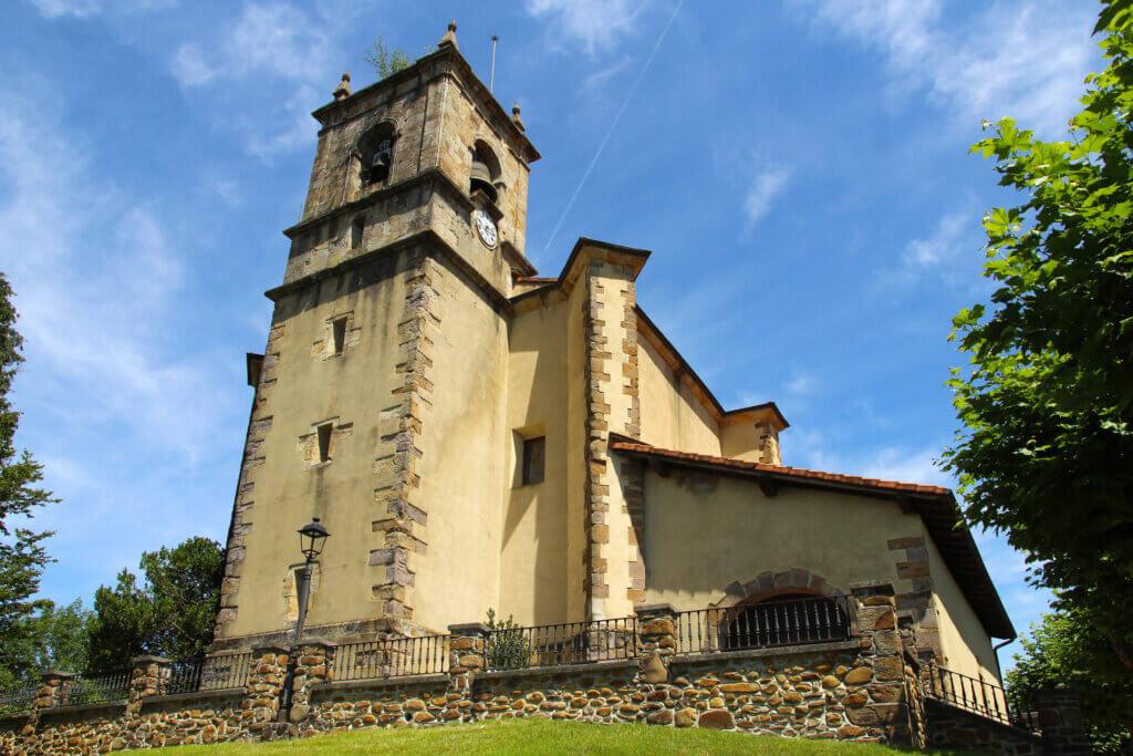 Iglesia de San Juan Bautista de Olaberria