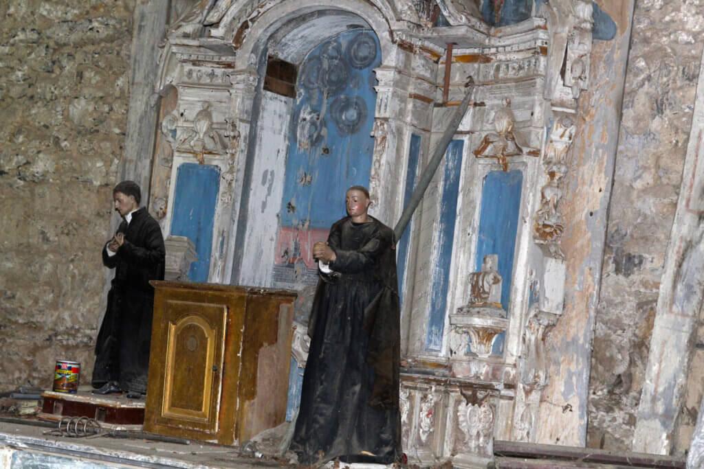 Retablo ermita Santiago de Alkiza